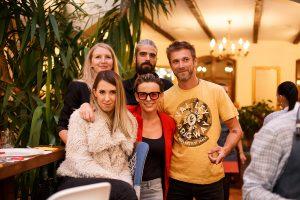 Party in Bucharest - restaurant