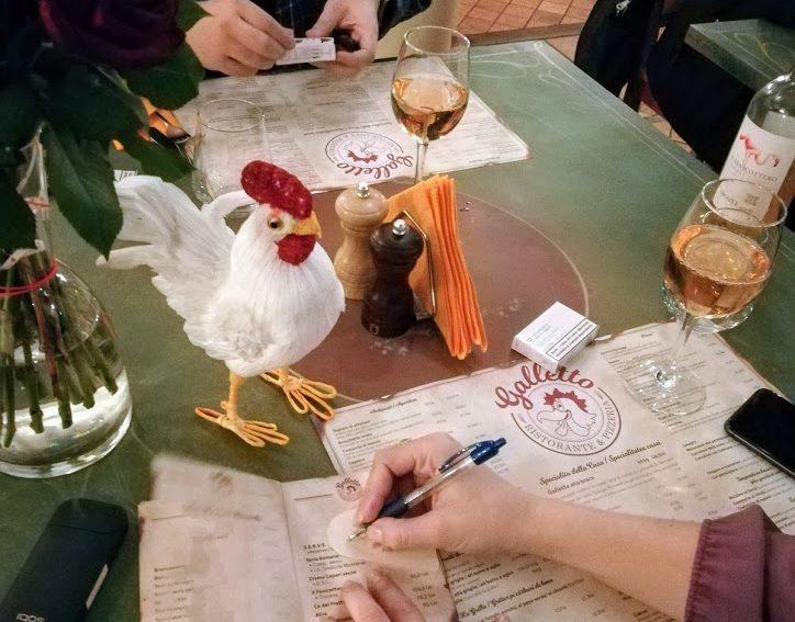 Sweet Valentine la restaurant Galletto