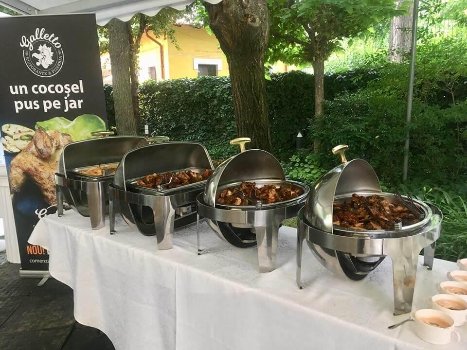 Catering la evenimente in Bucuresti- Cocoșel rumenit pe jar - Galletto Ristorante